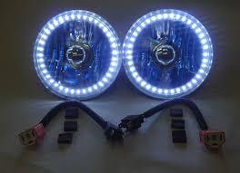 5 3 4 inch elite diamond single color halo headlight