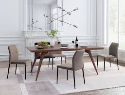 beige dining room revolution beige dining chair set of 2 from zuo coleman furniture