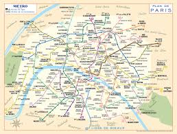 Portland Metro Map by 1956 Paris Metro Map U2013 Modern Colours U2013 Transit Maps Store