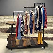 diy handmade pipe coat rack 11142014 cool material with regard to