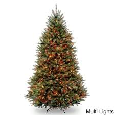 7 5 foot dunhill fir pre lit or unlit artificial christmas tree