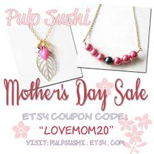 mothers day jewelry sale s day sale pulp sushi pulp sushi handmade jewelry