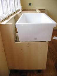 Kitchen Cabinets At Ikea - farmhouse sink installation with ikea cabinet tutorial kitchen