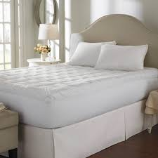 Goose Feather Bed Topper Bedroom Luxury Tufted Bed With Matress Topper And Decorative