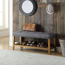 Oak Storage Bench Acme Furniture Bench Entryway Furniture Furniture The Home