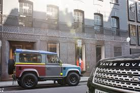 land rover defender 2015 special edition land rover creates one off special edition defender