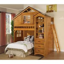 Bed Desk Combo Astounding Bunk Beds Desk Combo For Home Design Ideas With