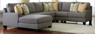 Contemporary Microfiber Sofa Living Room New Gray Sectional Sofa Ashley Furniture About