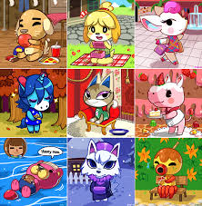 halloween animal crossing new leaf