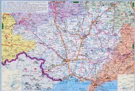 Guilin China Map by Guangxi