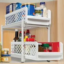 cabinet shelf organizers and storage bins organize it