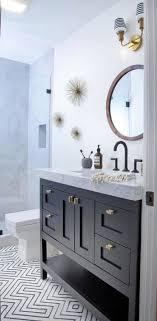 black vanity bathroom ideas mid century modern ranch master bath remodel des moines superb