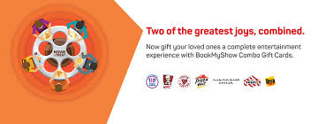 bookmyshow dhule buy gift cards online physical e gift cards discounted gift