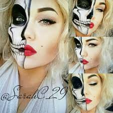 Halloween Skeleton Faces by Eyedolize Makeup 8 Ways To Make Your Halloween Skeleton Makeup