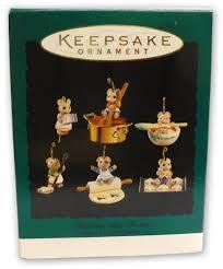 hallmark keepsake ornament baking tiny treats 1994
