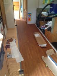 Rv Laminate Flooring More Rv Renovations Kerville Triathilon And Attack Of The Rv