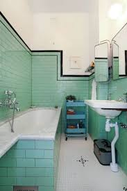 Mosaic Floor L Bathroom Vintage Tiles Bathroom Green Tile Ideas And Pictures L