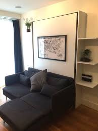 small space solution a diy murphy bed made with ikea parts beds
