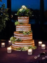 wedding cake no icing wedding cake