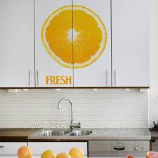 aliexpress com buy home kitchen dining wall sticker fresh lemon