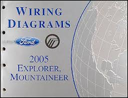 2005 ford explorer u0026 mercury mountaineer wiring diagram manual