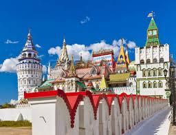 russische architektur retro haus in izmailovo kremlin moskau russische architektur
