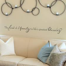 life u0027s greatest blessing elegant wall quotes decal wallquotes com