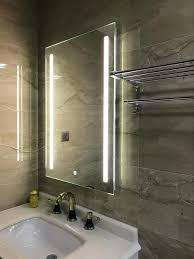Backlit Mirrors For Bathrooms Drift Led Backlit Illuminated Mirror Backlit Bathroom Mirror