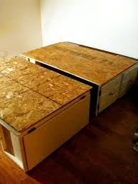 Easy Diy Platform Storage Bed by Build A Modular Storage Bed For Cheap In Like 5 Seconds And Save