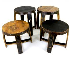 whiskey barrel table for sale barrel furniture sale save big this week on bourbon barrel furniture