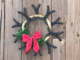 horseshoe wreath shoe wreaths equine ink