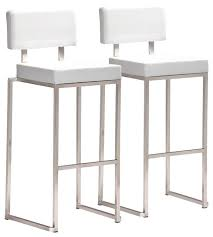 white bar stools with backs and arms white bar stools macky co