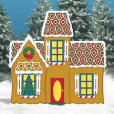 Christmas Yard Decorations Plans by Christmas Gingerbread Train Station Wood Outdoor Village Piece