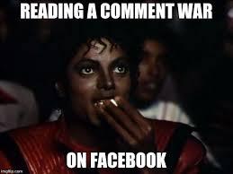Comment Memes - michael jackson popcorn meme imgflip