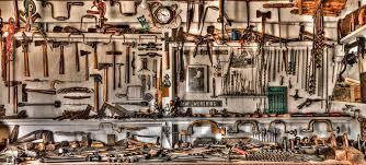 wood tools woodworking tools photograph by debra and dave vanderlaan