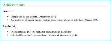 accomplishments resume sample appealing it program manager resume