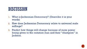 Describe It by Jacksonian Democracy Election Of 1824 Election Dominated By