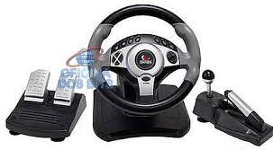 joystick volante volante leadership turbo universal ps3 ps2 pc usb