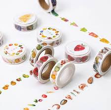 food design washi paper masking 1 diy journal