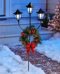 outdoor solar lighting lanterns led string lights lakeside