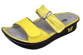 Comfort Sandals For Women Alegria Karmen Lemon Mixer Sandals Original Alegriashoeshop Com