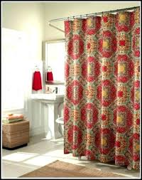 Brown Gingham Curtains Black Shower Curtains Brown Gingham Medium Size Of Valance
