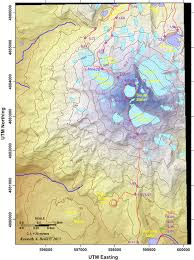 Oregon Volcano Map by The Whychus Creek Drainage Its Volcanic And Glacial History