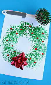 list of christmas crafts for kids to create wreaths crafts