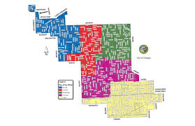 City Of Dallas Zoning Map by City U0027s New Grid Garbage System Effective Monday Cbs Chicago