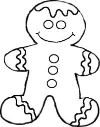 christmas coloring pages gingerbread man learntoride