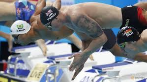 ink or swim tattoos on show at world swimming championships