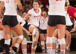 volleyball wisconsin athletics amber macdonald 2016