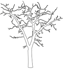dead flower coloring page dead tree outline coloring page free printable coloring pages