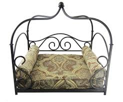 fresh wrought iron canopy bed frame 4187